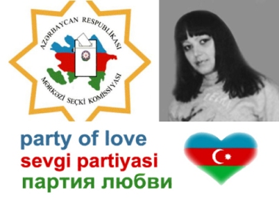 Милага Горенштейн - кандидат в президенты Азербайджана  Коллаж (с) Milanas.info